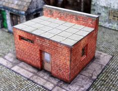 PAPERMAU: The Warehouse Paper Model For Dioramas, RPG And WargamesAssembled by Aldo Ross