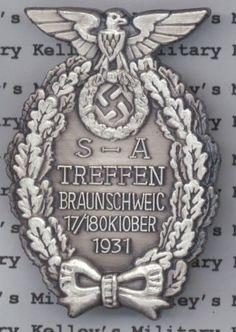 Kelleys Military SA Treffen Badge - 2nd Type