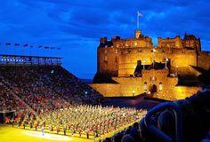 Royal Edinburgh Military Tattoo; Edinburgh Castle; bagpipes; pipeband