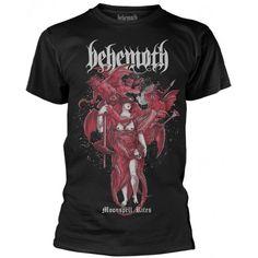 Behemoth: Moonspell Rites (tricou) Band Shirts, Metalhead, Bands, Mens Tops, T Shirt, Supreme T Shirt, Tee Shirt, Band, Band Memes