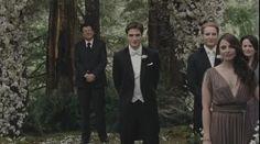 Edward smiles at his bride