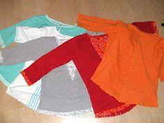 1 DIY Pattern = 5 different Shirts