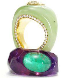 Joel Arthur Rosenthal jewelry. O, God...