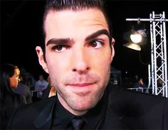 Check out all the awesome zachary quinto gifs on WiffleGif. Including all the star trek into darkness gifs, american horror story gifs, and jessica lange gifs. Zachary Levi, Zachary Quinto, Miles Mcmillan, Star Trek Reboot, Spock And Kirk, Star Trek 2009, Wonder Man, Star Trek Into Darkness, Colton Haynes