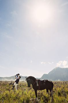 Ricky and Melissa's Engagement Shoot at Mount Bromo, Indonesia