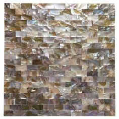 Us 15999 Brick Seamless Natural Mother Of Pearl Rainbow Color Shell Mosaic Tile Kitchen Backsplash Bathroom Shower Fireplace Decoration In Mosaic Diy Tile Backsplash, Mosaic Tiles, Wall Tiles, Mosaic Wall, Peel And Stick Tile, Stick On Tiles, U Bahn, Gadgets, Thing 1