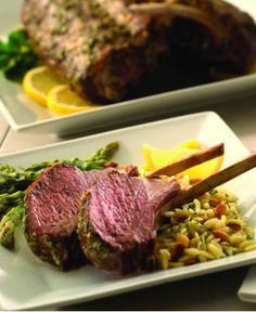 Grilled Rack of Lamb with Fresh Lemon and Herbs http://wm13.walmart.com/Cook/Recipes/22089/