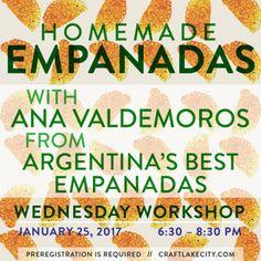 Craft Lake City to Host 2017 Empanadas Workshop This January