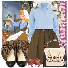 Cinderella, created by blujay on Polyvore