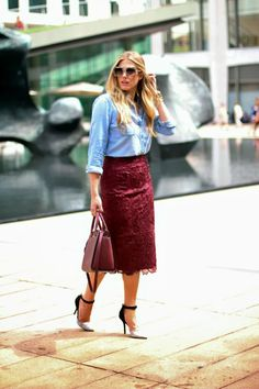 A feminine skirt fit for any occasion featuring @ted_bakerUSA and @Michael Kors #OOTD - See more at: http://www.fashionindie.com/post/how-to-get-wavy-hair?from=outfits#sthash.2kTXpIeE.dpuf by @Devon Rachel