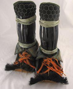 Mid Edo Kegutsu [Samurai Fur Boots]