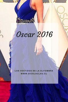 Los vestidos de los Oscar 2016.