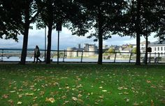Limerick City, Ireland... a view of King John's Castle from Clancy Strand