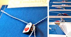 DIY: Einladungskartenhüllen von einhochzeitsblog | DaWanda Blog