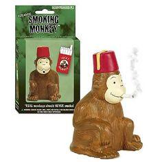 Let the monkey smoke