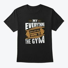 Gym t shirt for you.if you are a gym lover so this is for you. Gym Workout Tips, No Equipment Workout, Workout Videos, My Fitness Pal, Fitness Motivation, Gym Fitness, Fitness Tips, Gym Shirts, Workout Shirts
