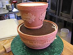 useful 'how to' make a flower pot cake