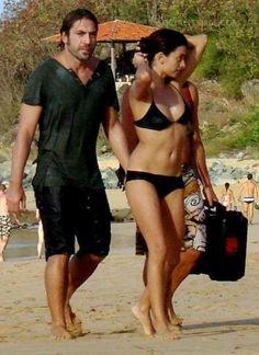 pictures of javier bardem and penelope cruz | Penelope Cruz With Javier Bardem At Beach Penelope Cruz Husband Javier ...