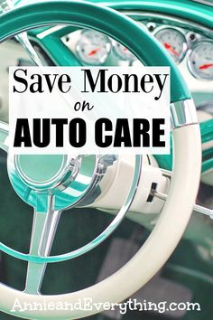 Does it feel like auto care costs add up quickly? Saving money on them is very possible -- read to find out how we do it!