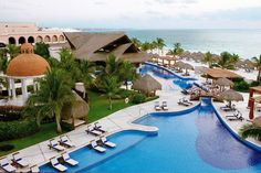 Excellence Riviera Cancun Luxury Adults Only All Inclusive in Cancun, Mexico @Expedia #CincoDeMayo
