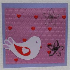 Gemaakt door Sophie # kaart met vogeltje