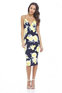 66219e3f 92% Polyester 8% Spandex - Imported - Our plunge front midi dress with