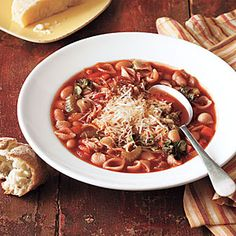 Classic Minestrone Recipe | MyRecipes.com