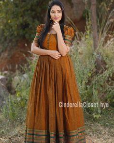 Frock Fashion, Indian Fashion Dresses, Indian Gowns Dresses, Dress Indian Style, Indian Long Dress, Indian Wear, London Fashion, Cotton Gowns, Cotton Long Dress