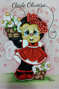 Solve Ladybug Girl jigsaw puzzle online with 150 pieces Tole Painting, Fabric Painting, Lady Bug, Ladybug Girl, Cute Bee, Kids Boxing, Hand Embroidery Designs, Cute Characters, Whimsical Art