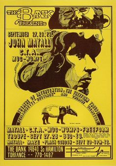 27.-28.9.1968; john mayall - c.t.a. (chicago transit authority); 29.9.1968; john mayall; usa, torrance, bank; (db) (t)