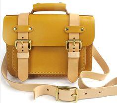 c66e38e3ff Leather Bag Messenger Bag Briefcase Handmade Bag by LeaJanefocus. Katarzyna  Kamińska · men s fashion