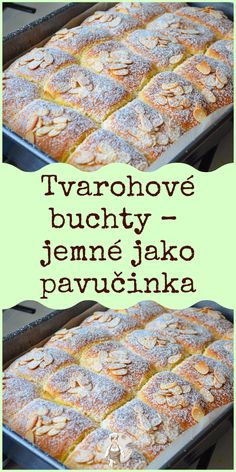 Czech Recipes, Desert Recipes, Baking Recipes, Sweet Recipes, Yummy Treats, Banana Bread, Deserts, Goodies, Food And Drink