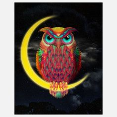 Owl Print, $26, now featured on Fab.