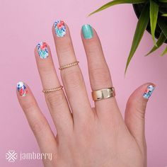 dmcchesney.jamberry.com IslandDreams_Patina | by Jamberry Home Office