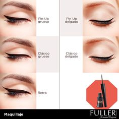 Delinear tus ojos permite darle a tu mirada el efecto que deseas. #Look #Makeup #Maquillaje