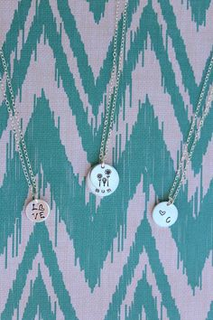 mother's day is around the corner! shop our personalized jewelry #handstamped #mothersday