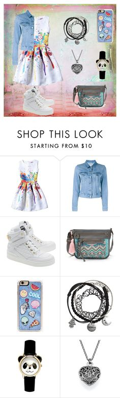 """""""Panda"""" by egreace on Polyvore featuring мода, Acne Studios, Moschino, T-shirt & Jeans и Zero Gravity"""