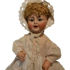 """Antique Beautiful Whopping Doll 26"""" Kammer & Reinhardt Simon & Halbig from devoted-to-dolls on Ruby Lane"""