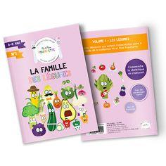 Livret pédagogique sur les légumes pour les enfants de 7 à 8 ans. Grâce à Mr et Mme Fourchette, deux personnages passionnés de diététique, les enfants jouent mais surtout acquièrent de nouvelles notions sur l'alimentation. Ils sont accompagnés de légumes rigolos qui permettent de dédramatiser l'image qu'en ont les enfants.
