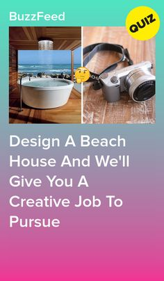 Design A Beach House And We'll Give You A Creative Job To Pursue I got writer Fun Quizzes To Take, Random Quizzes, Best Buzzfeed Quizzes, Career Quiz, Fun Personality Quizzes, House Quiz, Quiz Design, Playbuzz Quizzes, Interesting Quizzes