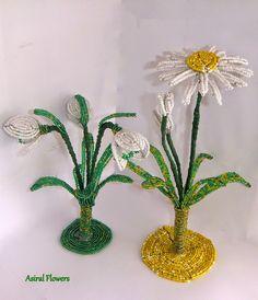 Aranjamente florale din margele ~ Motanul-Incaltat.com