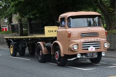 Leyland Badger Vintage Trucks, Old Trucks, Classic Trucks, Classic Cars, Honda Scrambler, Old Lorries, Old Wagons, Semi Trailer, Commercial Vehicle
