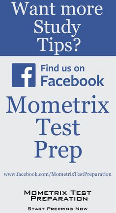 """If you're looking for more study tips, be sure to """"like"""" us on FaceBook! #studytip #mometrix #testprep"""