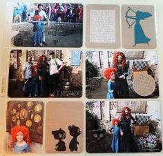 Project Life Heritage Edition and cuts from Disney Believing In Dreams Cricut collection made by Cool Beans by L.B.