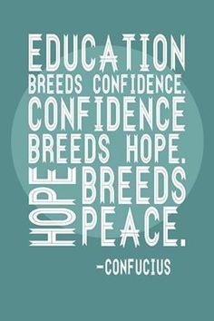 Education=Peace.  That's math that we like. http://www.cynthiacoffmanforag.com #CynthiaCoffmanForAG