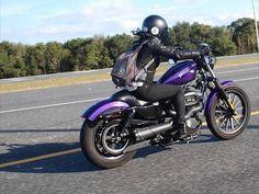 Real Biker Women sportster883iron
