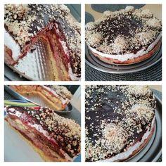 Tort simplu cu frișcă și ciocolată Tiramisu, Ethnic Recipes, Food, Banana, Essen, Meals, Tiramisu Cake, Yemek, Eten