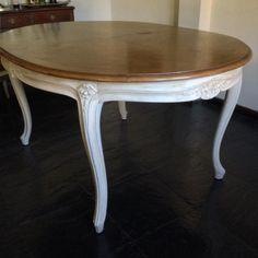 Mesa ovalada divina! estilo francés