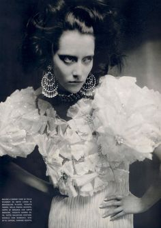 thefashionatelier:  Alana Zimmer photographed by Paolo Roversi for Vogue Italy March 2007