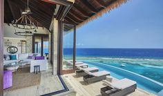 indoor/outdoor living with an amazing view